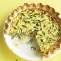 Image of Asparagus Leek And Gruyere Quiche Recipe, Group Recipes