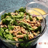 Image of Autumn Salad With Maple Cidar Vinaigrette Recipe, Group Recipes