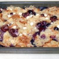 Croissant Berry Cherry Bread Pudding Recipe