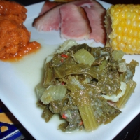 Image of Awesome Mustard Greens Recipe, Group Recipes