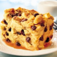 Image of Autumn Apple Raisin Bread Pudding Recipe, Group Recipes