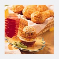 Image of Ambrosia Muffin Cakes Recipe, Group Recipes