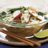 Image of Asian Chicken Noodle Soup Recipe, Group Recipes