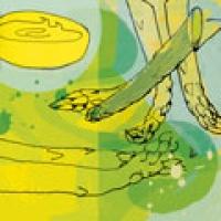 Image of Asparagus Arugula Frittata Recipe, Group Recipes