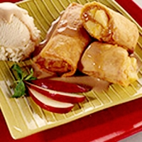 Image of Apple Turon A La Mode Recipe, Group Recipes