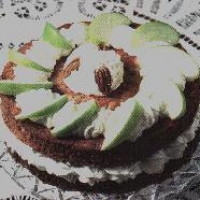 Image of Apple Cream Cake Recipe, Group Recipes