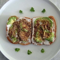 Image of Avocado + Nuts Open Sandwich *blood Type A* Lovers Recipe, Group Recipes