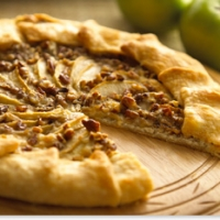 Image of Alouette Cheese And Apple Galette Recipe Recipe, Group Recipes