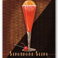 Image of Antioxidant Singapore Sling Recipe, Group Recipes