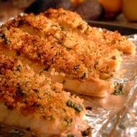 and parmesan panko crusted halibut fillets with panko parmesan crusted ...