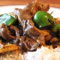 Beef And Peppers In Black Bean Sauce Recipe