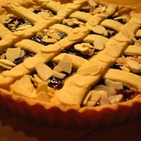 Image of Almond Linzer Torte Recipe, Group Recipes
