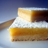 Image of Amaretto Lemon Bars Recipe, Group Recipes