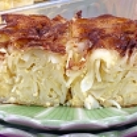 Peach Noodle Kugel Recipe