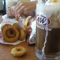 Image of A And W Onion Rings Recipe, Group Recipes