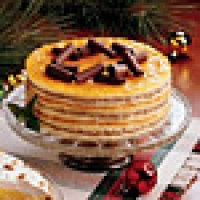 Image of Apricot Torte With Chocolate Buttercream Recipe, Group Recipes