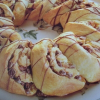Image of Apricot-chocolate Ring Recipe, Group Recipes