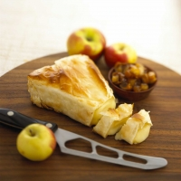 Image of Alouette Baby Brie Wedge In Phyllo Recipe, Group Recipes