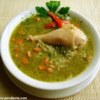 Image of Aguadito De Pollo - Peruvian Chicken Soup Recipe, Group Recipes