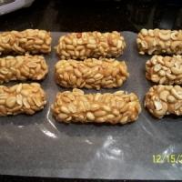 Queen Anne Salted Peanut Caramel Nougat Rolls Recipe