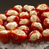 Image of Alouette Stuffed Peppadew Peppers Recipe, Group Recipes