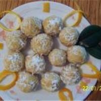 Image of A Kids Let Me Help Recipe- Orange Balls Recipe, Group Recipes