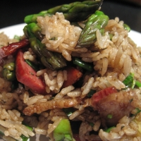Image of Asparagus  Rice Salad Recipe, Group Recipes