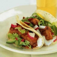 Image of Fried Fish Tacos Recipe, Group Recipes