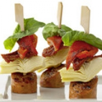 Image of Antipasto Sausage Skewers Recipe, Group Recipes