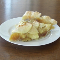 Image of Apple Custard Pie Recipe, Group Recipes