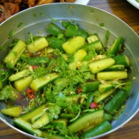 and cucumber salad cucumber peanut salad sesame cucumber salad chinese ...