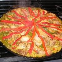 Image of Paella A La Valenciana Recipe, Group Recipes