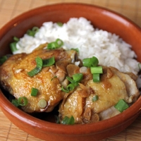 Star Anise And Ginger Braised Chicken Recipe