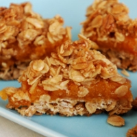 Image of Apricot Oat Bars Easy Recipe, Group Recipes