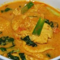 Image of Aromatic Chicken In Coconut Cream Recipe, Group Recipes