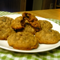 Image of Applesauce Oatmeal Chocolate Chip Cookies Recipe, Group Recipes