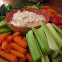 Image of Alton Browns Onion Dip Recipe, Group Recipes