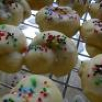 Recipe for italian cookies with lemon