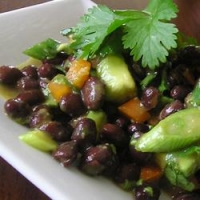 Image of Avocado Asian Black Bean Salad Recipe, Group Recipes