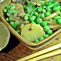 Image of Asian Peas Recipe, Group Recipes