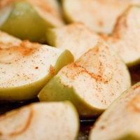 Baked Apple Wedges Recipe