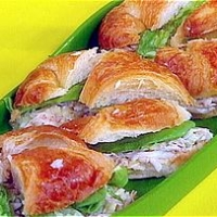Image of Acadian Style Crab Salad On Croissants Recipe, Group Recipes
