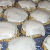 Banana cookies with icing recipe