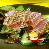 Image of Ahi Tuna Salad Recipe, Group Recipes