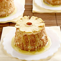 Image of Allspice Angel Food Cakes With Pineapple Curd And Oven-dried Pineapple Recipe, Group Recipes