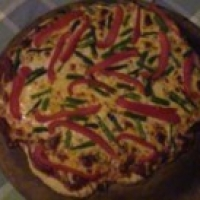 Image of Asparagus And Red Pepper Pizza Recipe, Group Recipes