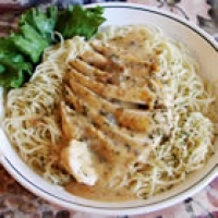 Image of Angel Chicken Pasta Recipe, Group Recipes