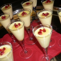 Saffron Panna Cotta Recipe