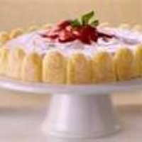 Image of Antique Recipe Charlotte Russe With Strawberries Recipe, Group Recipes