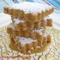 Image of Almond Spanish Cookies Polvorones Recipe, Group Recipes
